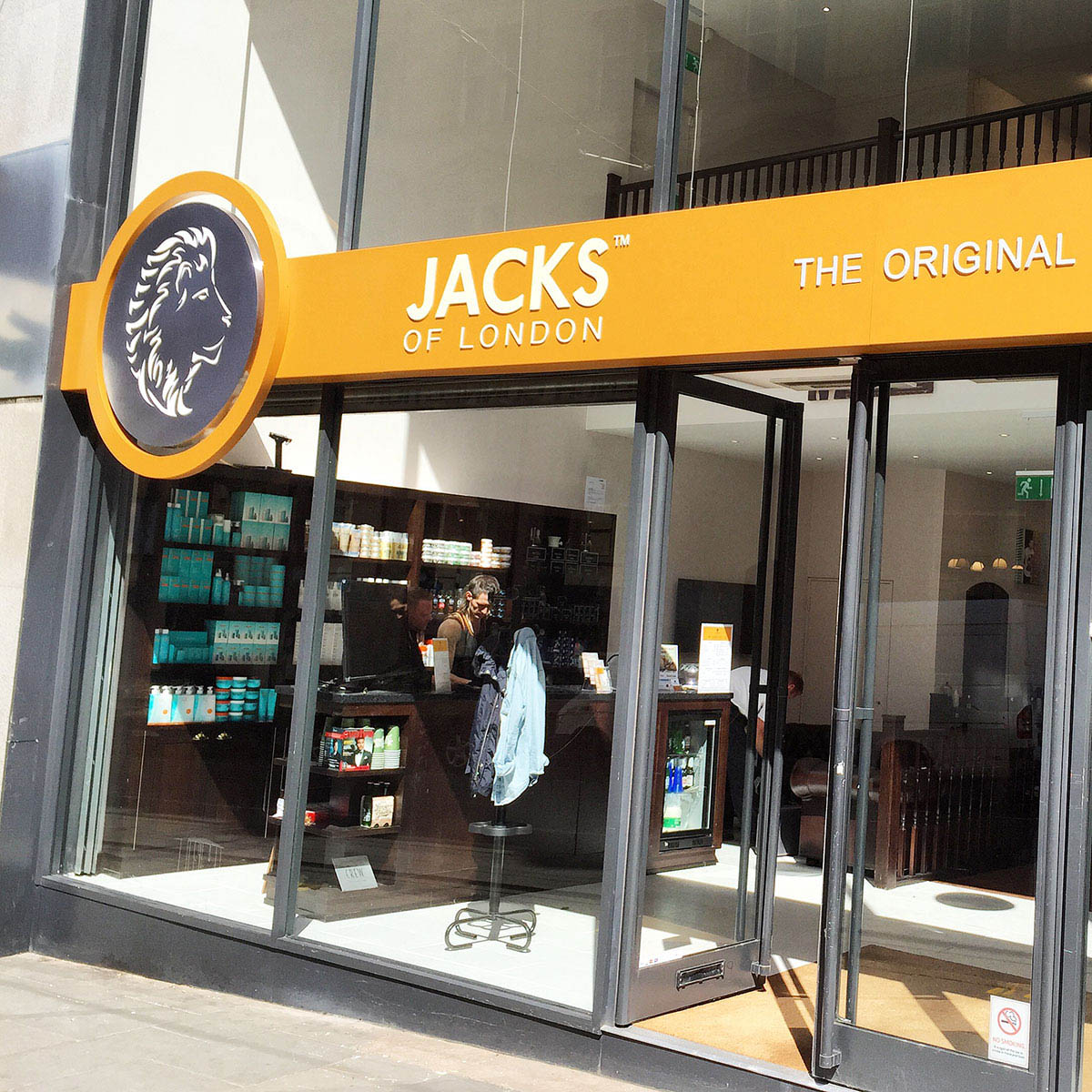 Jacks of London Shopfront