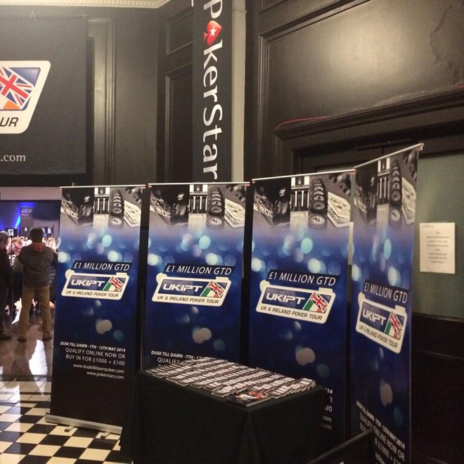 Pokerstars Printed Banner