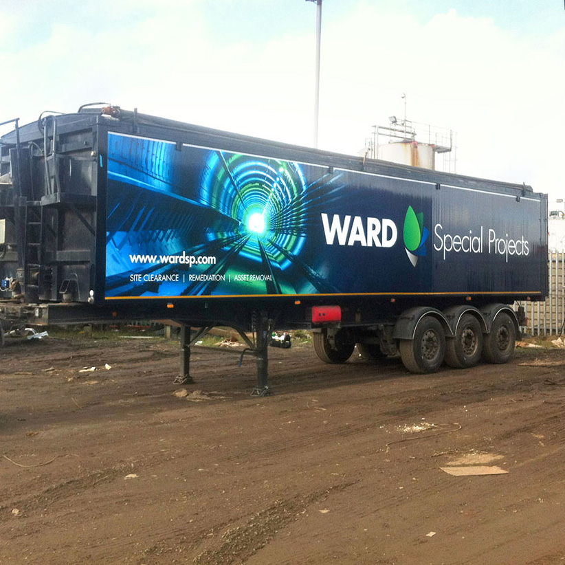 Ward Special Projects Trailer Wrap