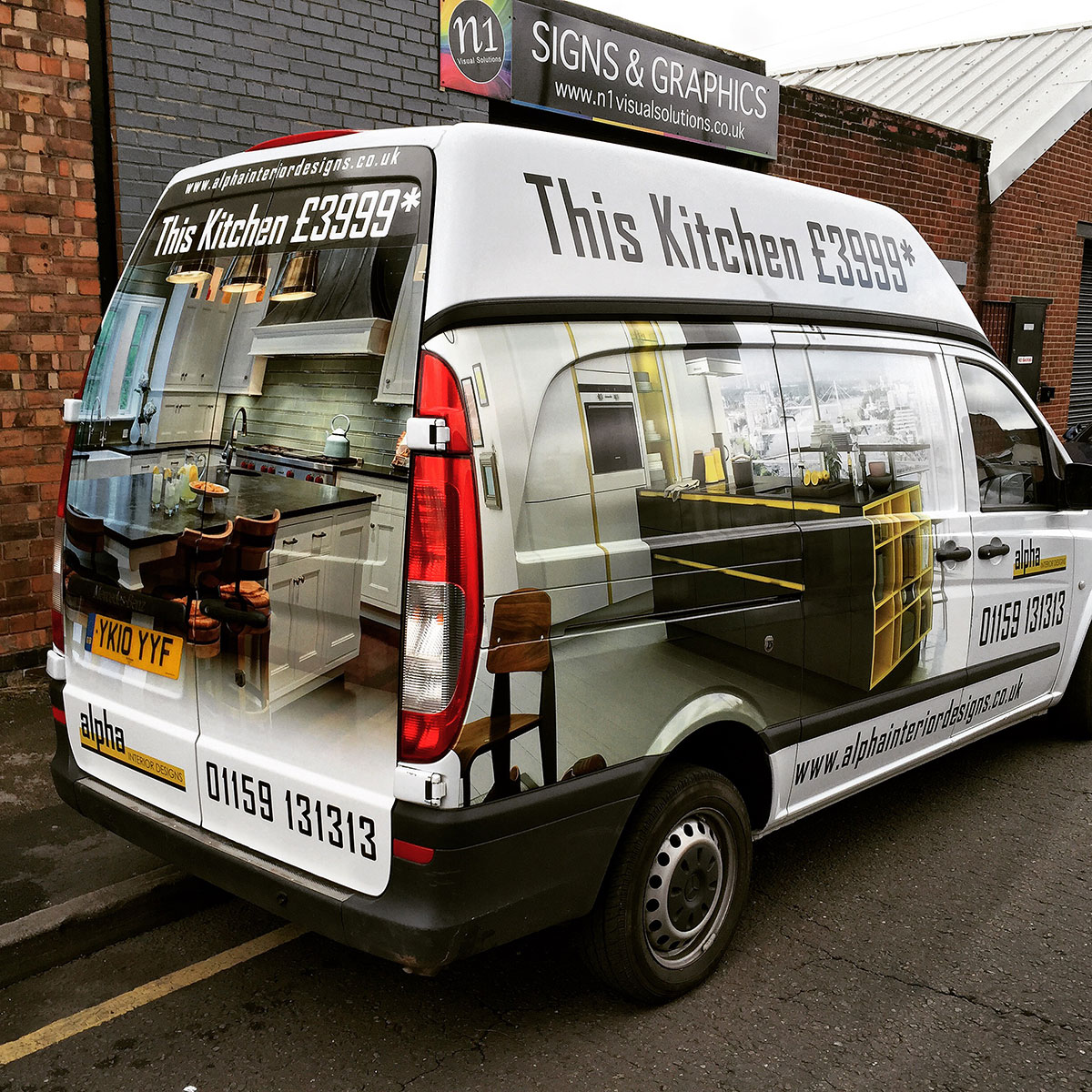 Alpha Interiors Van Wrap