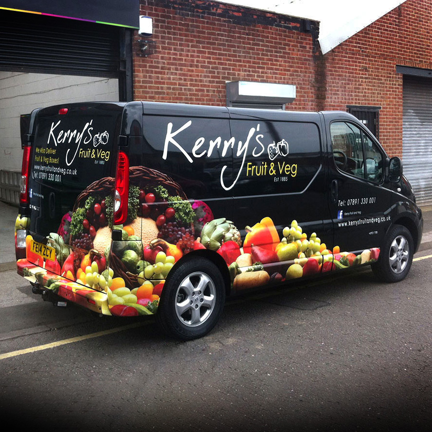 Kerry's Fruit & Veg Van Wrap