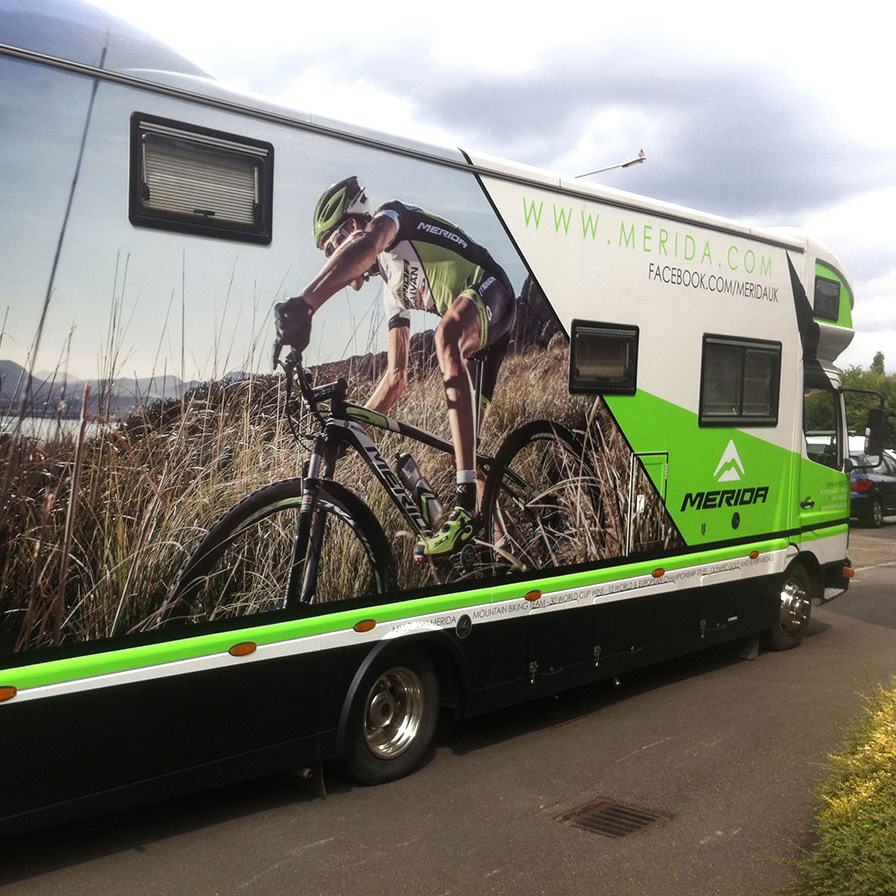 Merida Cycles Van Wrap